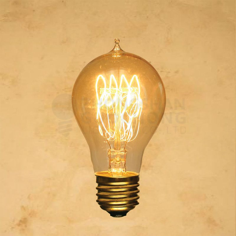 25-WATT INCANDESCENT A19 VINTAGE EDISON LIGHT BULB