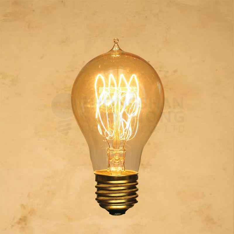 25-WATT INCANDESCENT A19 VINTAGE EDISON LIGHT BULB