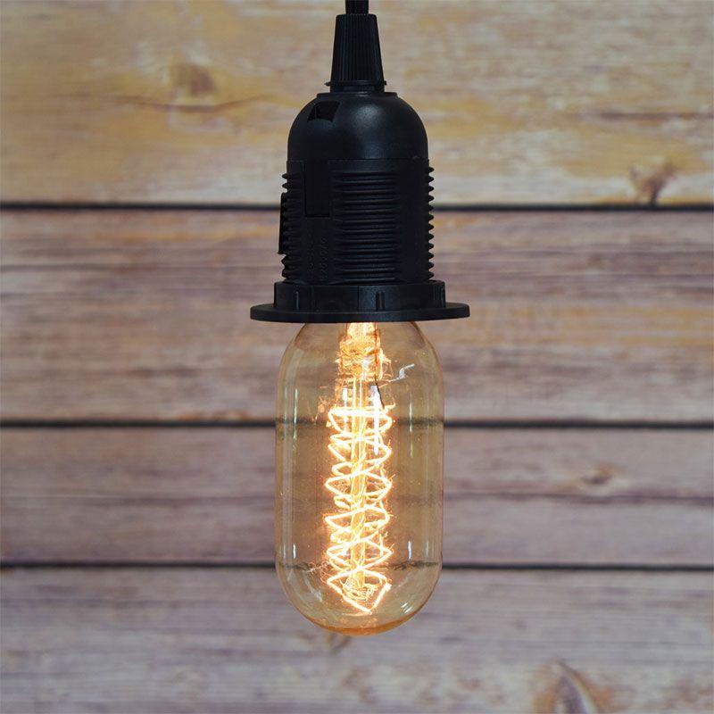 25-WATT INCANDESCENT ST45 VINTAGE EDISON LIGHT BULB