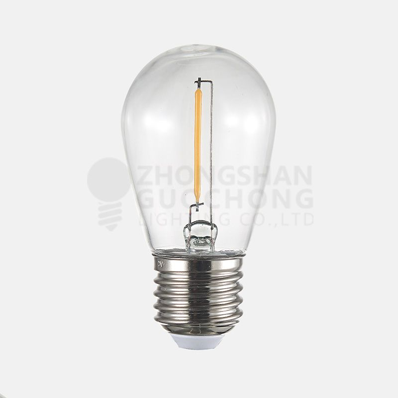 LED 1 FILAMENT LIGHT BULBS, S14, ENERGY SAVING