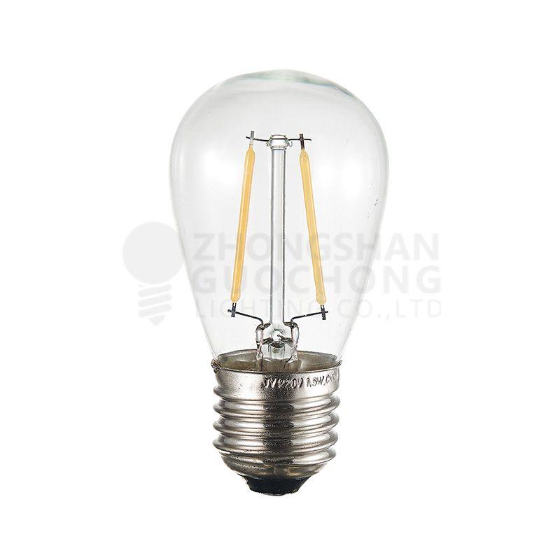 LED 2 FILAMENT LIGHT BULBS, S14 , ENERGY SAVING