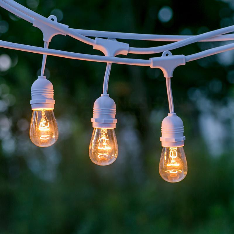 SAA Listed, 10 E27 SUSPENDED SOCKET, OUTDOOR COMMERCIAL WEATHERPROOF STRING LIGHT,10M CORD